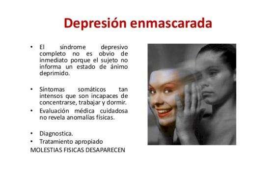 DEPRESION ENMASCARADA